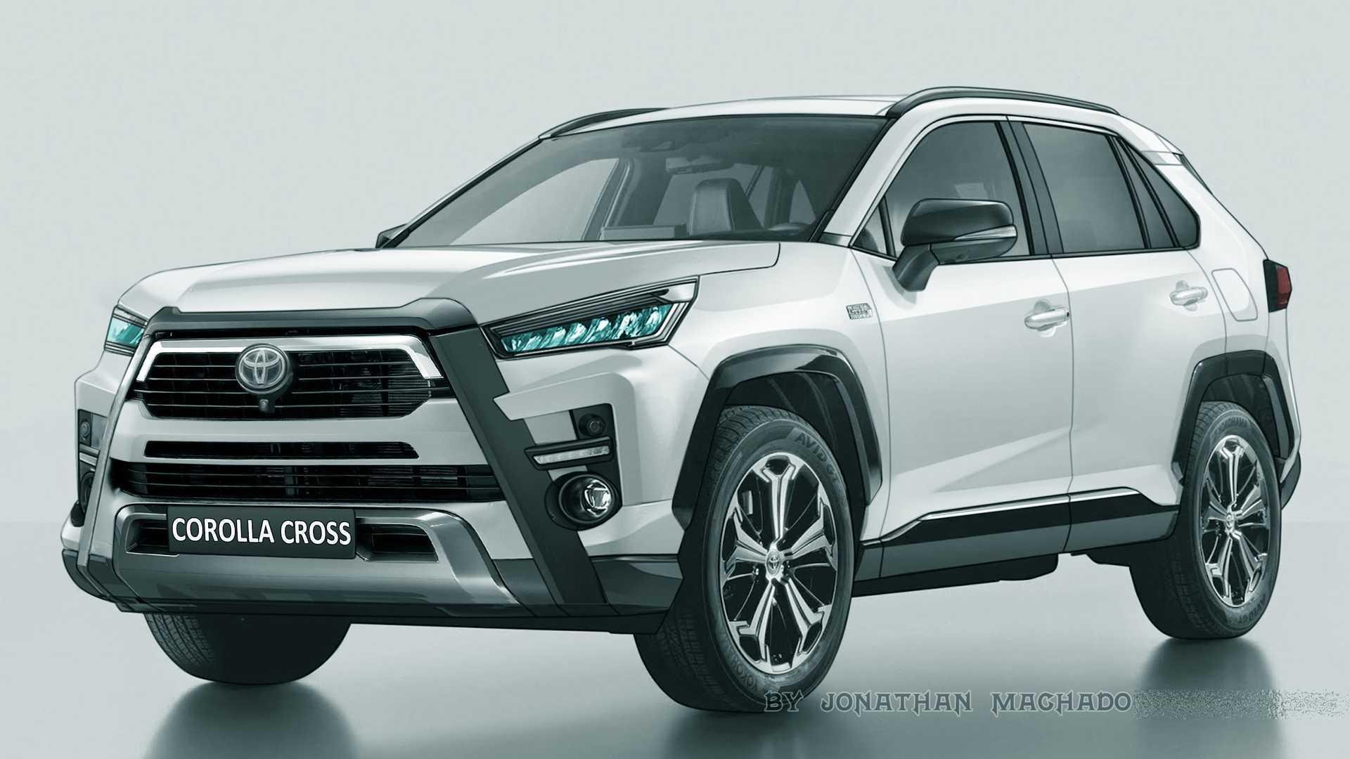 Toyota Corolla Cross Novos Flagras Dao Base Para Projecoes Do Futuro Suv Nacional