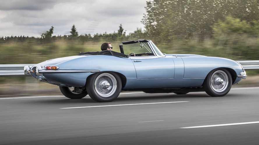 Свадебный Jaguar E-Type принца Гарри и Меган Маркл был электрическим