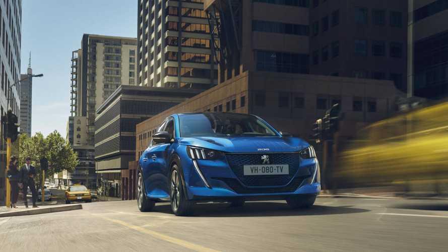 Peugeot представил свой первый полноценный серийный электрокар e-208