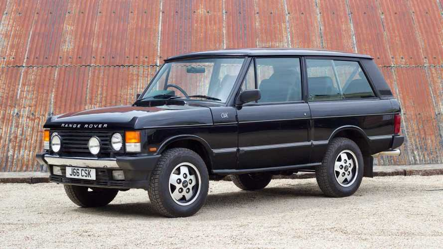Classics for sale: Is this the most collectible Range Rover ever?