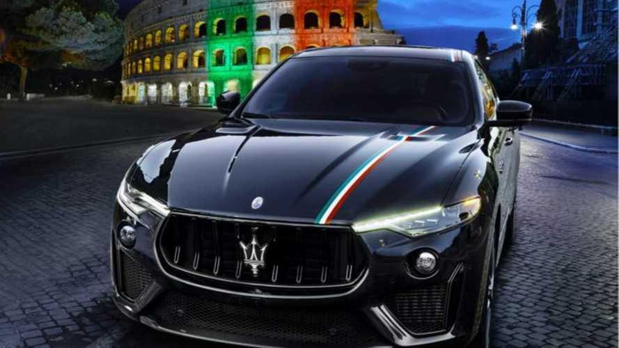 Különleges festést mutatott be a Levantéra a Maserati