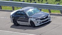 2021 Cadillac CT4-V Blackwing new spy photos