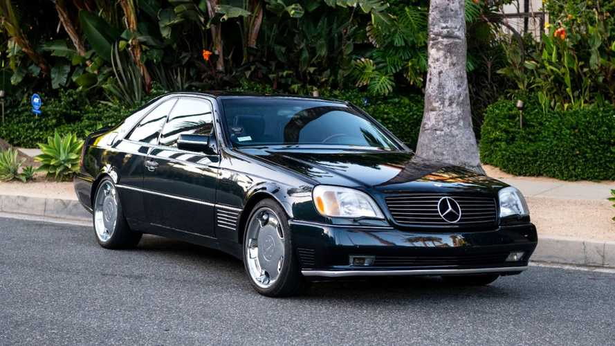 You Can Buy Michael Jordan's Mercedes-Benz S600 From The '90s
