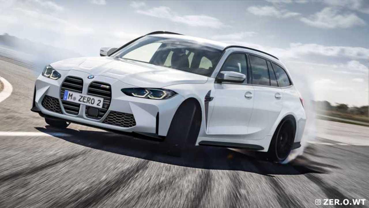 BMW M3 Touring Rendering