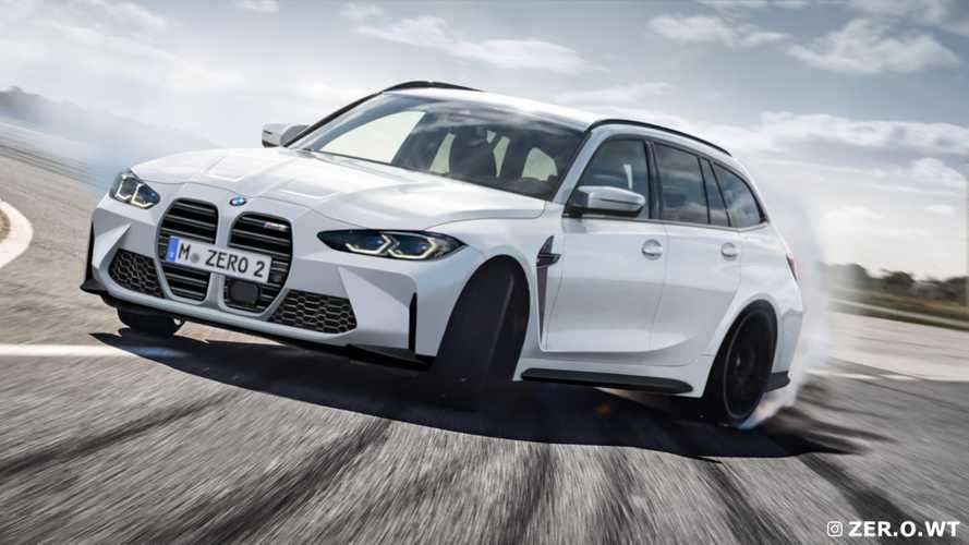 BMW M3 Touring will probably look like this render, drifting included