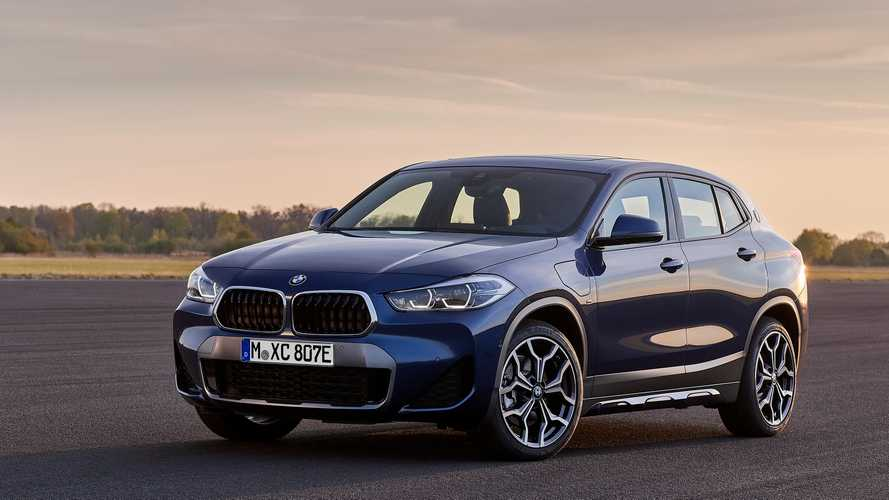 Bemutatkozott a hibrid hajtáslánccal bíró BMW X2-es