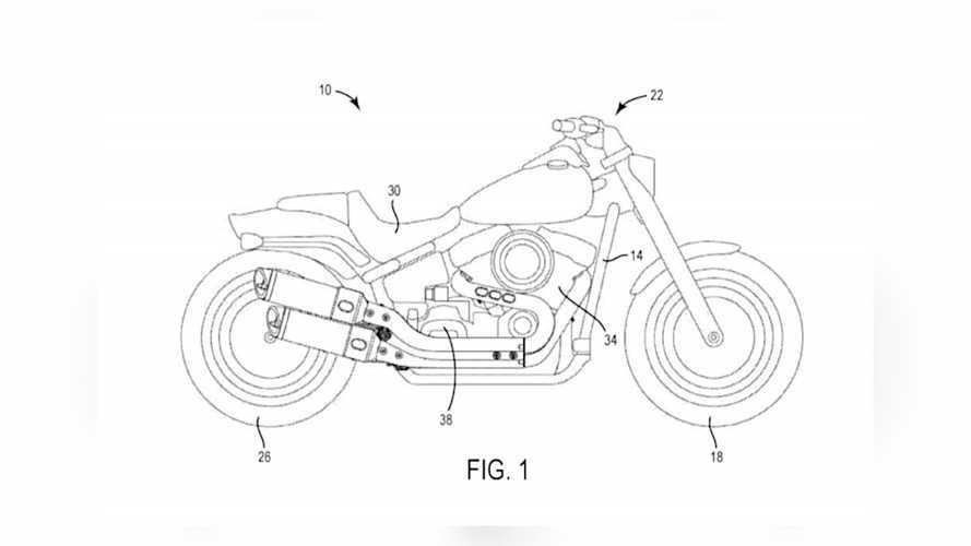Harley-Davidson Engine Balancer Patent