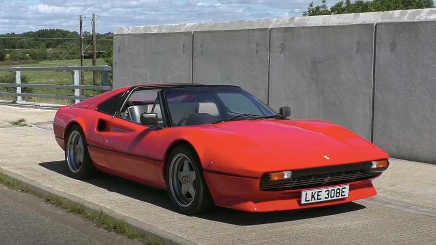 El Ferrari eléctrico de la discordia: aquí está un 308 con motor Tesla