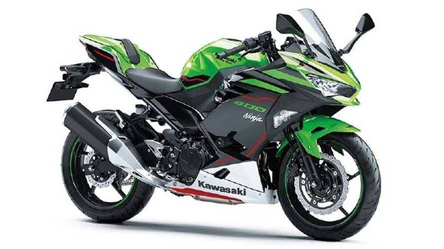 Fancy New Colors For The 2021 Kawasaki Ninja 400
