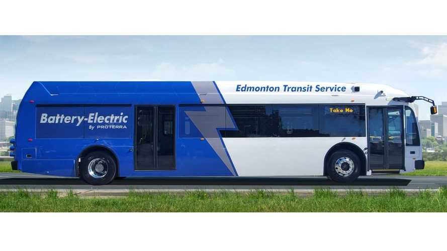 UPDATE: Canada: Edmonton Receives Long-Range Proterra Catalyst E2 Max Buses