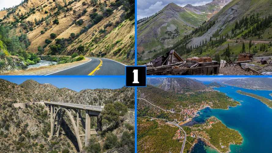 10 Of The Best Driving Roads In North America (Plus One In Croatia)