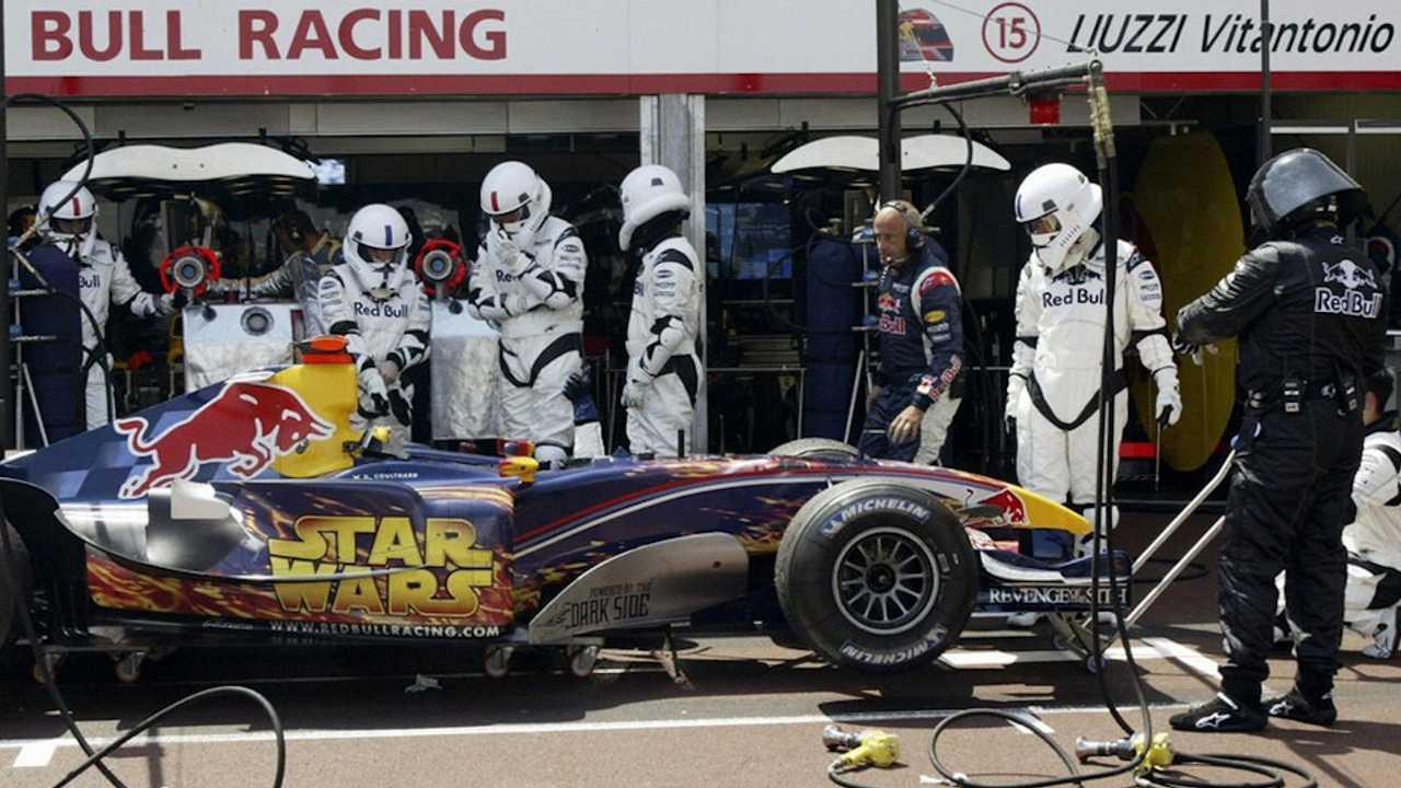 Red Bull RB1 на Гран При Монако 2005 года