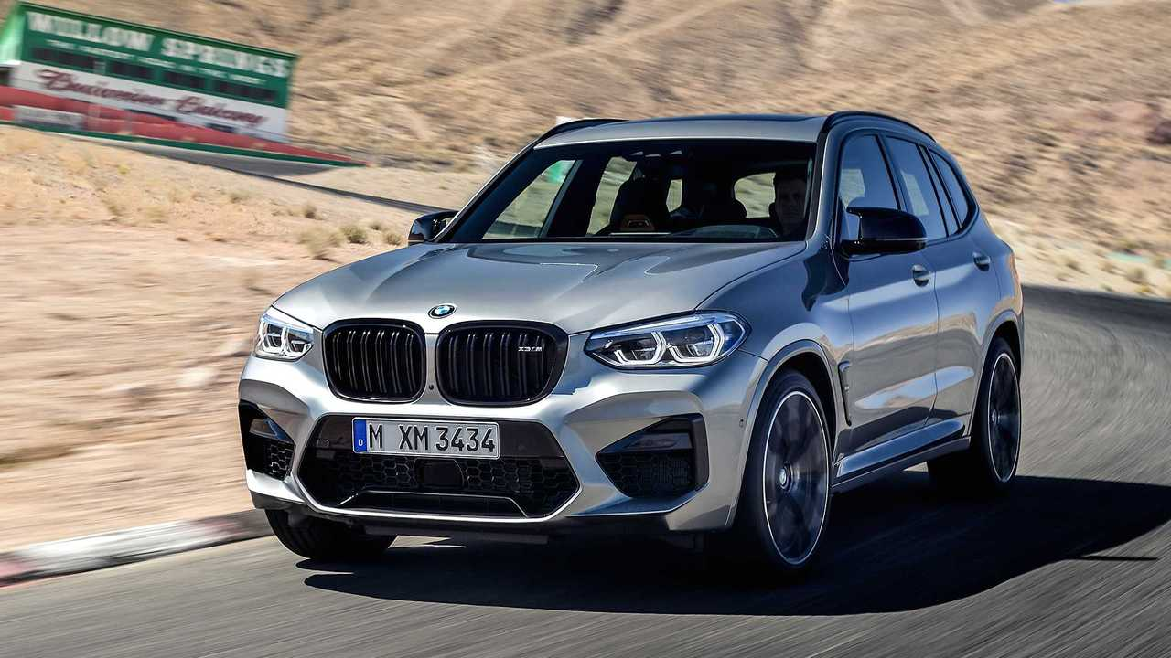 BMW X3/X4 M Competition: 510 л.с.