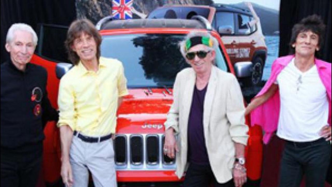 [Copertina] - All'asta la Jeep Renegade autografata dai Rolling Stones