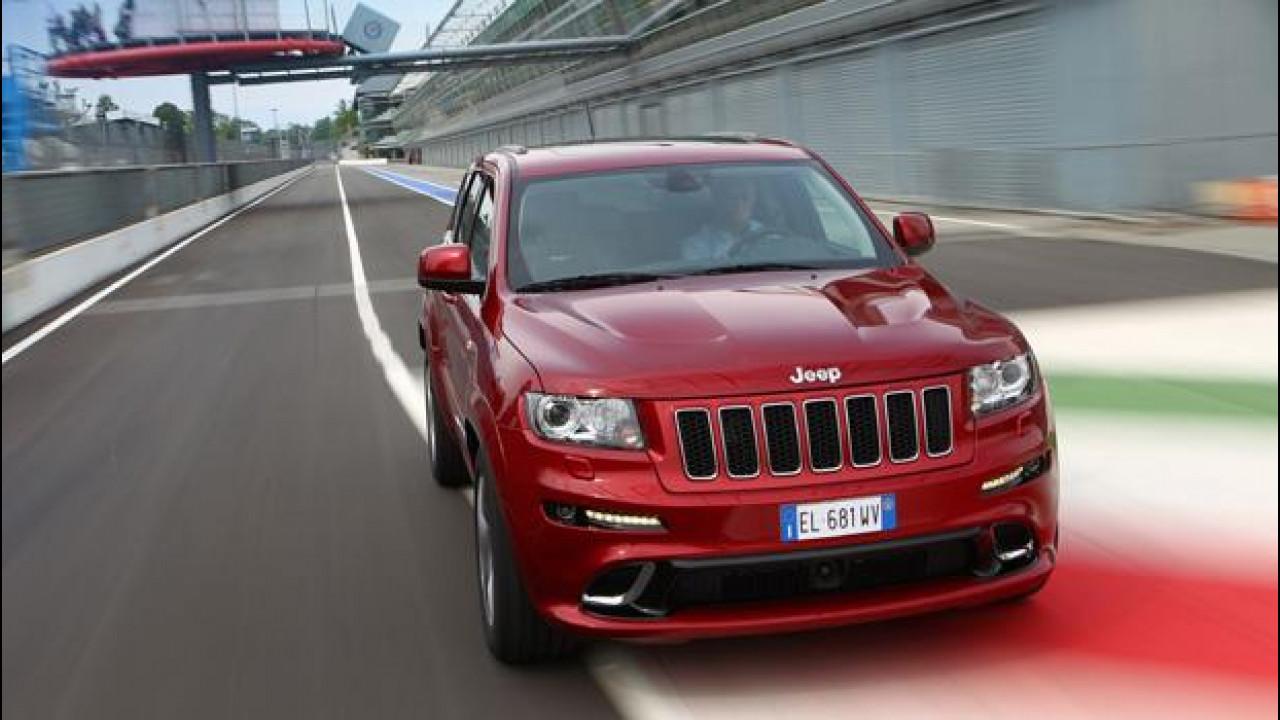 "[Copertina] - Jeep Grand Cherokee SRT, la SUV col V8 ""Made in USA"""