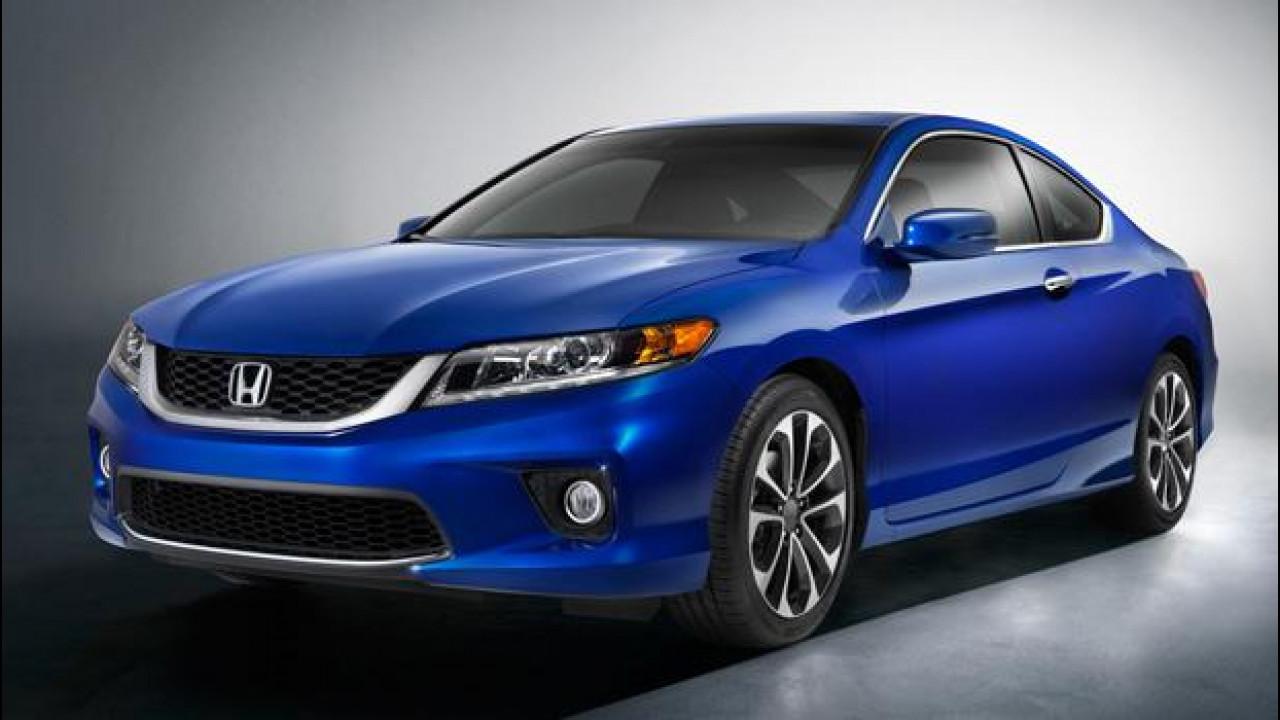 [Copertina] - Honda Accord MY 2013 berlina e coupé, solo per gli USA