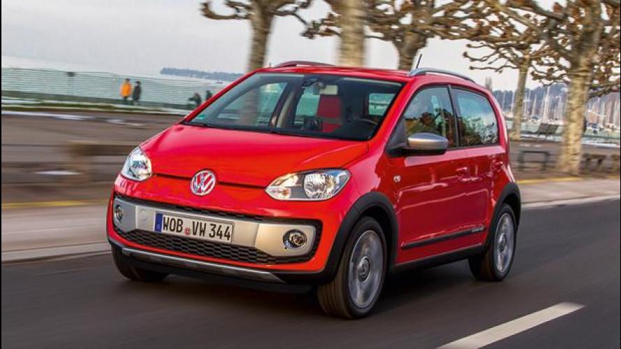 Volkswagen cross up!, prova su strada della citycar rialzata