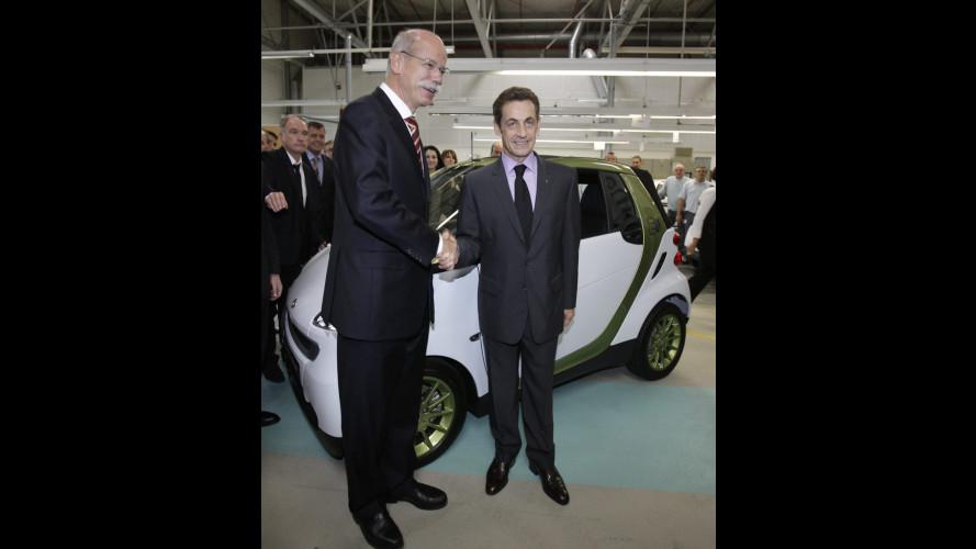 La smart fortwo electric drive nascerà in Francia