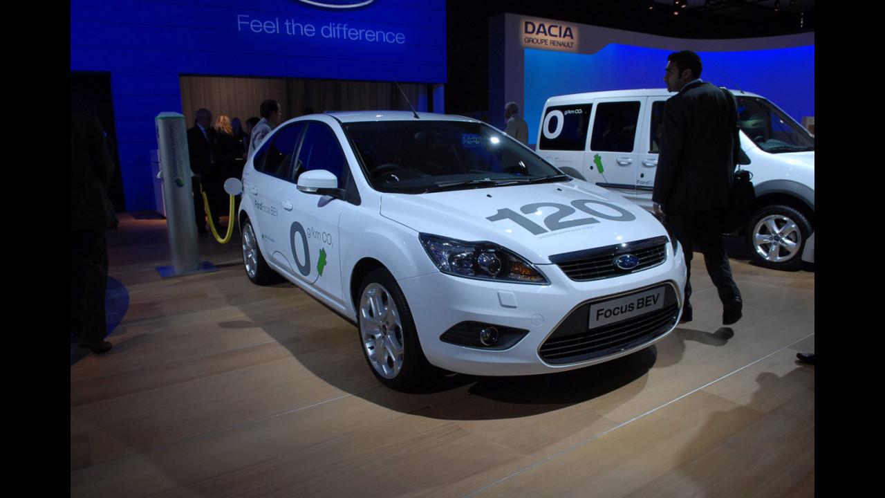 Ford Focus elettrica al Salone di Francoforte 2009