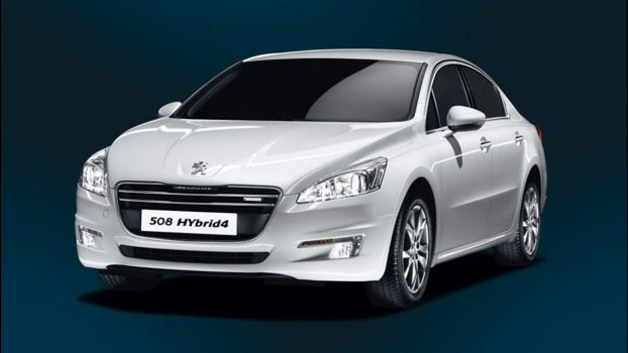 [Copertina] - Peugeot 508 Hybrid4, tre volumi con due motori