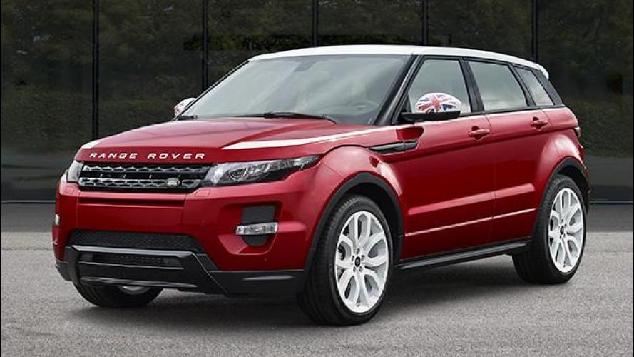 Range Rover Evoque SW1 Special Edition, molto britannica