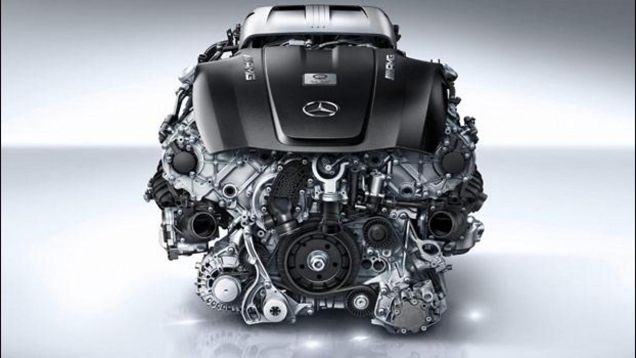 [Copertina] - Mercedes-AMG GT, ecco il 4.0 V8 biturbo