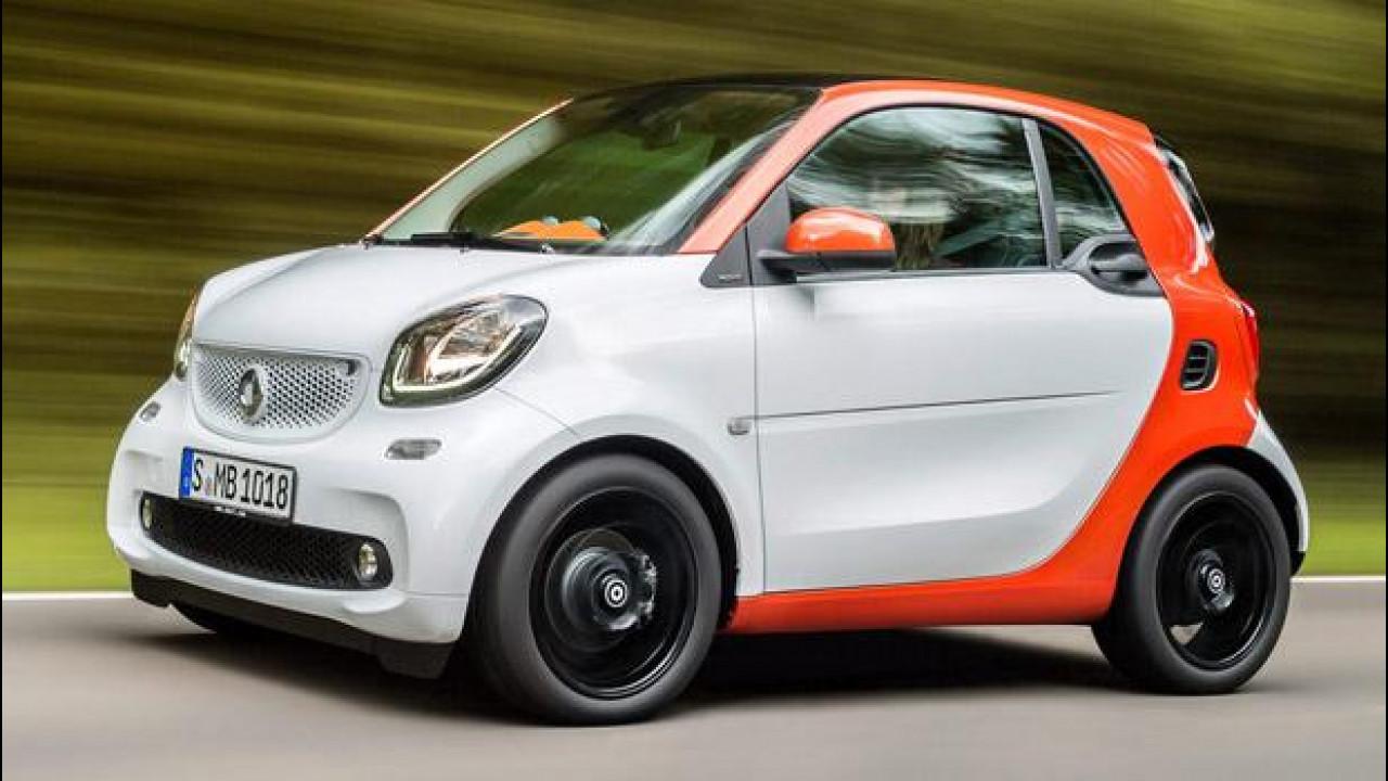 [Copertina] - Le nuove smart fortwo e forfour si provano al Motor Show