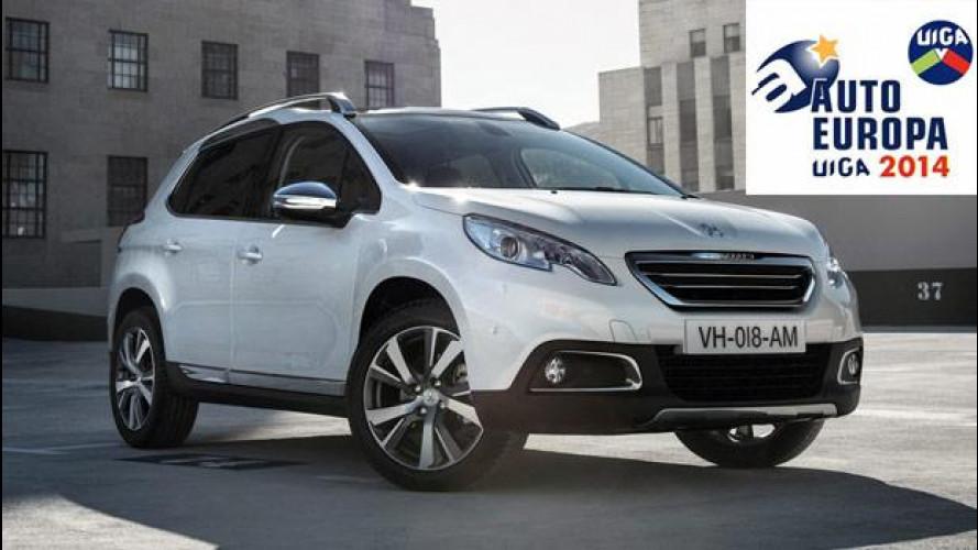 Peugeot 2008 è Auto Europa 2014