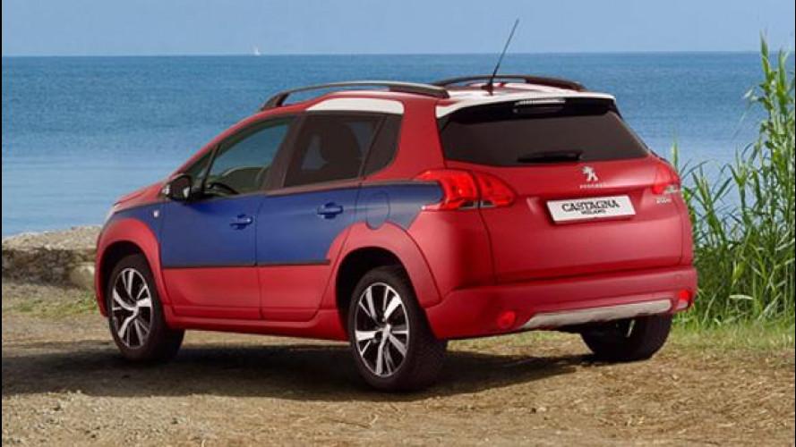"""Peugeot 2008 Castagna, """"normalmente"""" chic"""