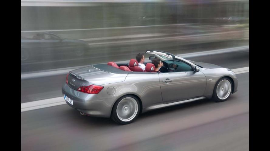 Infiniti G37 Cabrio arriva in Italia