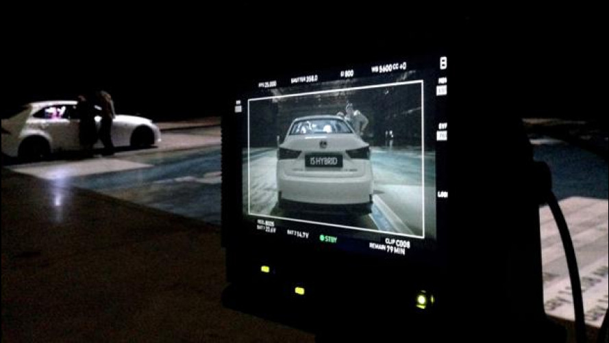 """Lexus IS, dietro le quinte dello spot-videogame """"traccia la tua strada"""""""