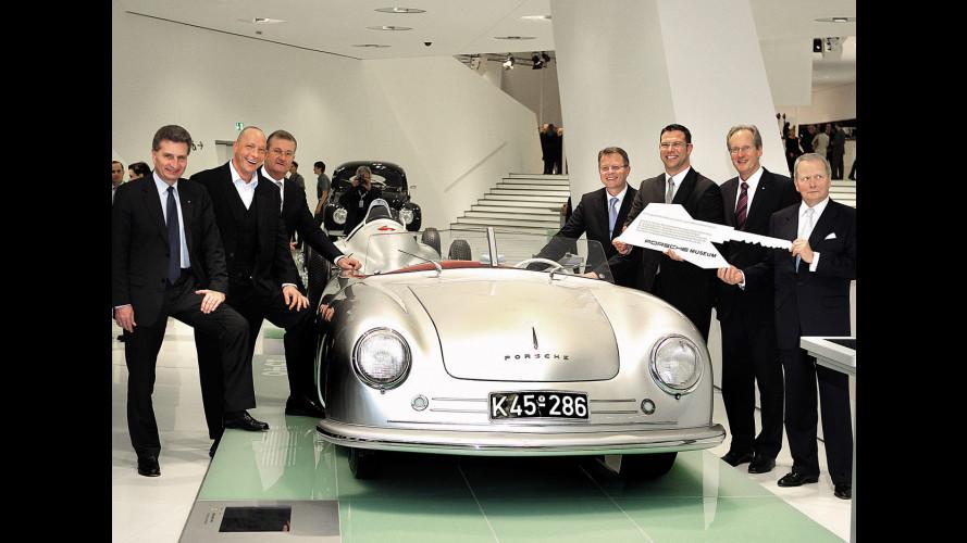 Il Museo Porsche si è svelato al pubblico