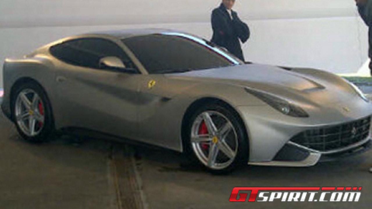 Ferrari F620 GT: lo scatto rubato