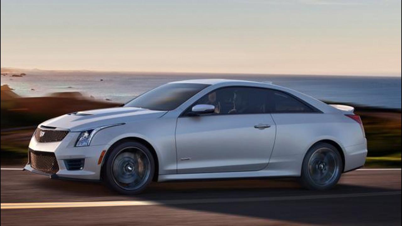 [Copertina] - Cadillac ATS-V Berlina e Coupé, premium da pista