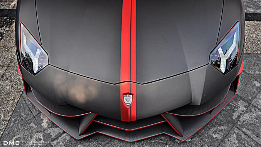 Lamborghini Aventador da 560.000 euro con la cura di DMC
