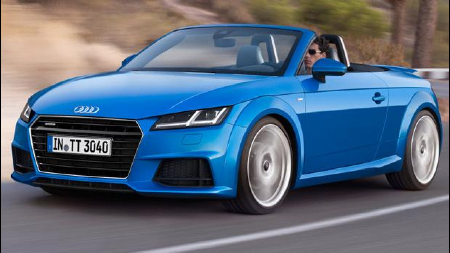 Nuova Audi TT Roadster, divertimento a cielo aperto