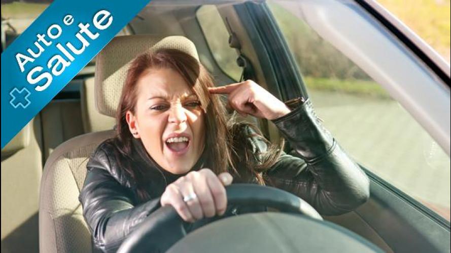 Stress al volante: ne soffre un automobilista su due