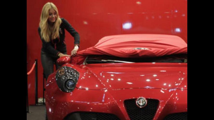 """Alfa Romeo 4C """"si spoglia"""" in Germania"""