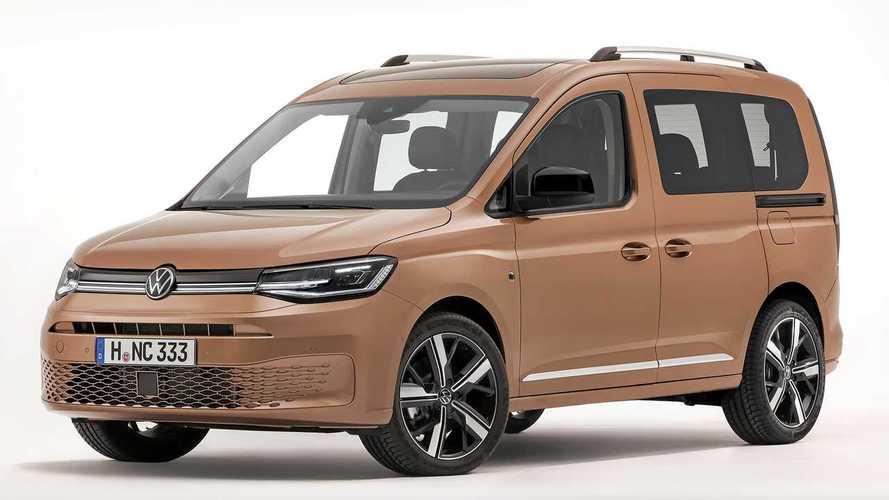 Salone di Ginevra 2020, il Volkswagen Caddy ora su base Golf