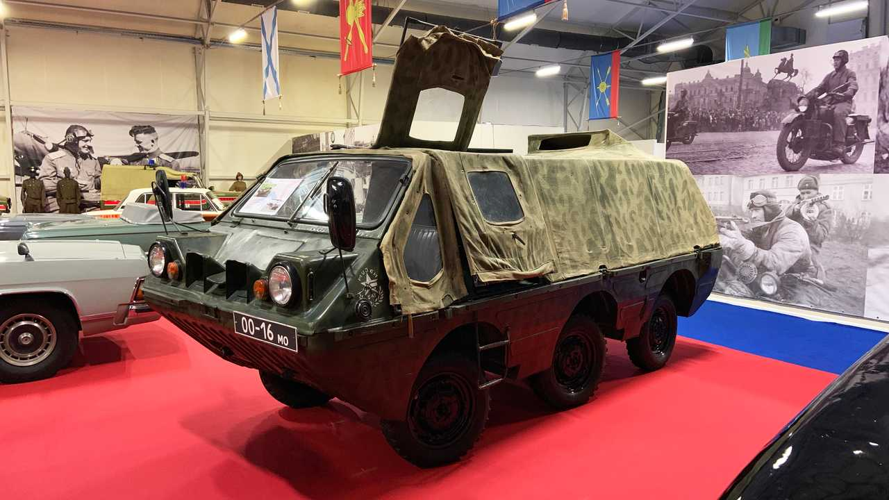 Vergessene Militärfahrzeuge der UdSSR: LuAZ-1901 (Projekt