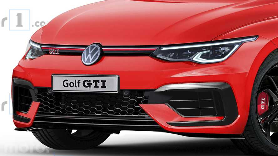 2020 VW Golf GTI rendering