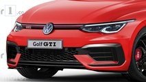 Illustration - Volkswagen Golf GTI (2020)
