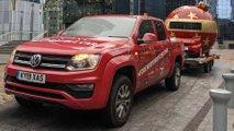 Volkswagen Amarok to tow giant bauble across UK
