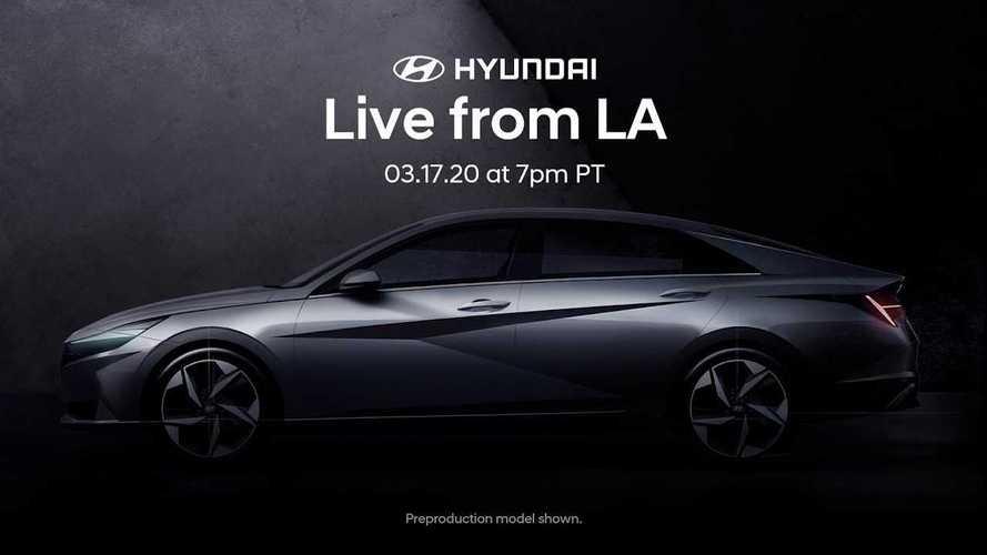 Yeni 2020 Hyundai Elantra bugün tanıtılıyor! Canlı yayını kaçırmayın!