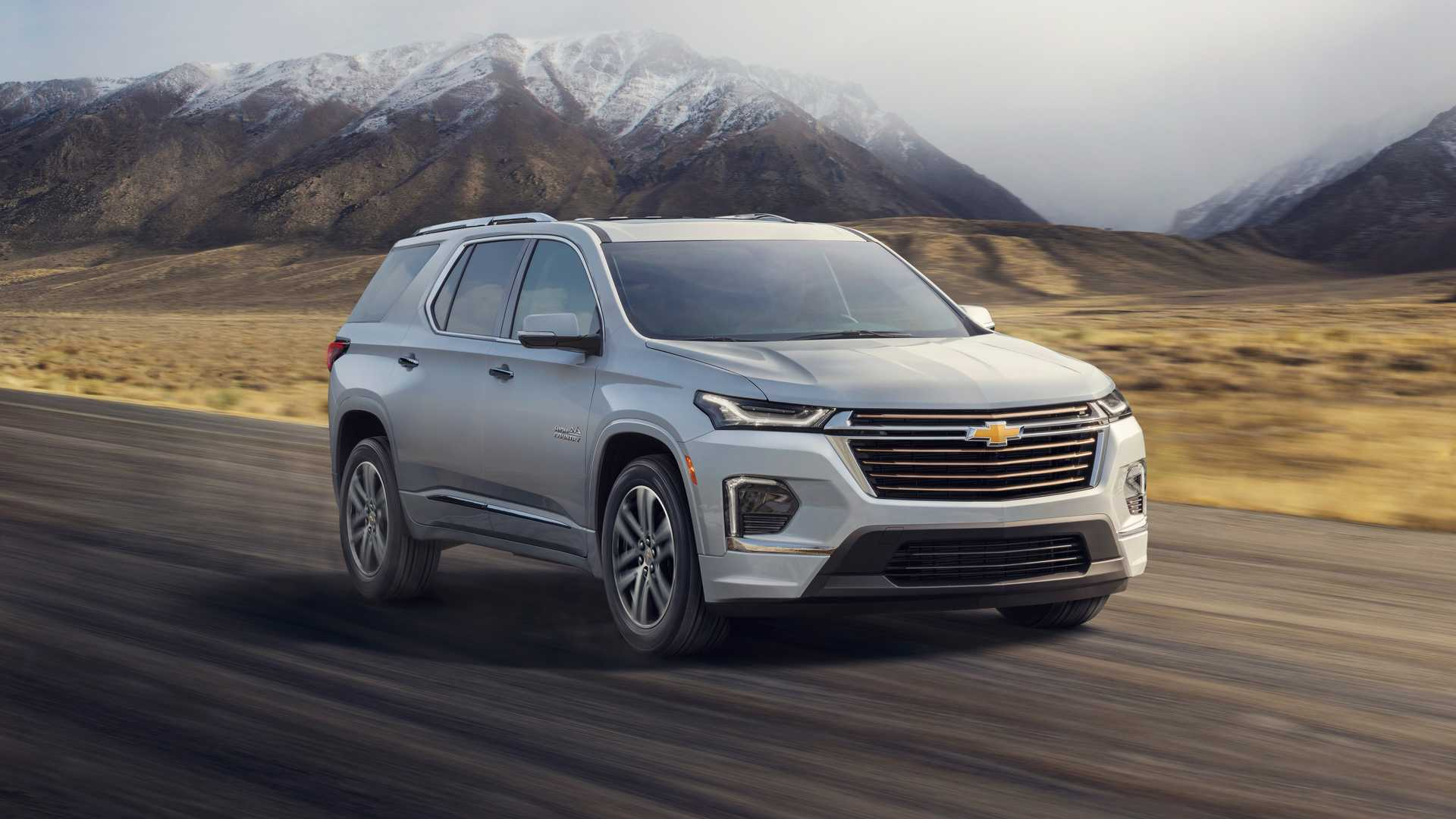 Chevrolet Traverse Facelift (2020) 5