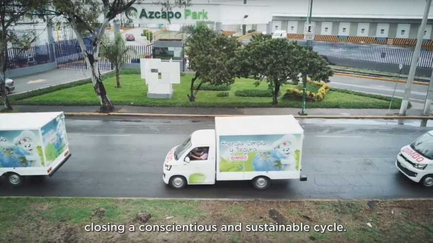Mexican Bakery Corporation Bimbo Goes Electric