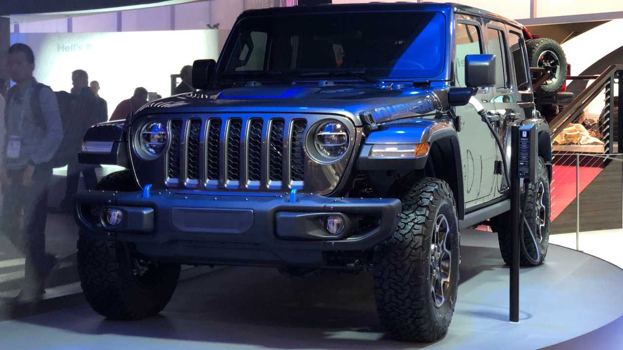 Jeep Wrangler PHEV At CES Live Image