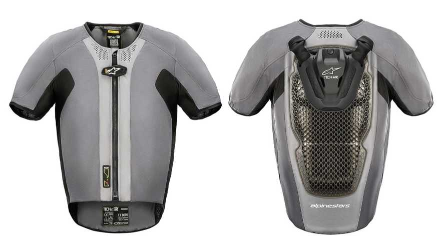 A Closer Look At Alpinestars's New Airbag Vest Unveiled At CES