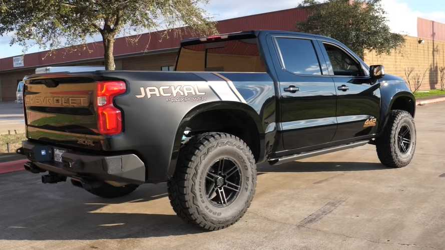 See The Silverado Jackal On Camera, The Raptor's Worst Nightmare