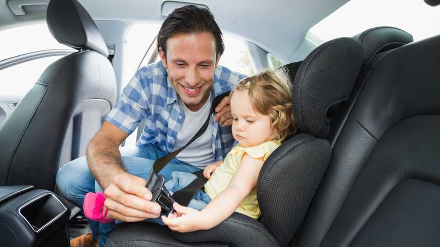 Fifth of parents and grandparents don't always put kids in child seats